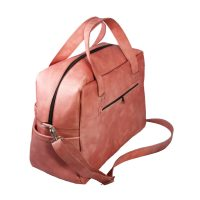 Leather Diaper Bag Large
