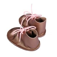 Baby Vellies Leather