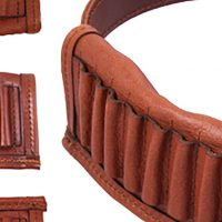 Leather Ammo Pouch Belt